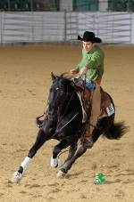 Mr Ruff Enterprise, VWB Senior Reining Champ. 2012
