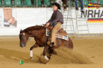 Elias mit RH Chic Josie On Top, , NRHA Futurity 2012 in Kreuth, Limited Open Finale, Top Ten