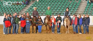 NRHA Breeders Futurity Champion L1