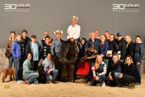 NRHA Breeders Futurity L1 Champion 4jährig