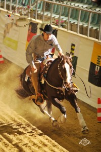 EWU German Open Senior Reining Champion mit USS N Dun It