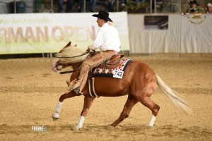 German Paint - Junior Reining Champion mit LDR Tweenty One Guns