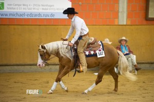 German Paint -Junior Reining Champion mit LDR Tweenty One Guns